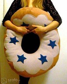 """""""donut pillow""""-kreatywne poduszki:)Klik w kom.!"""