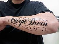 Carpe Diem Chwytaj Dzień Na Tatuaże Zszywkapl