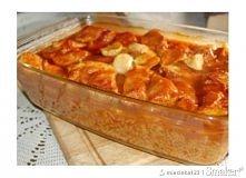 Filet z kurczaka zapiekany w pomidorowym sosie z ryżem