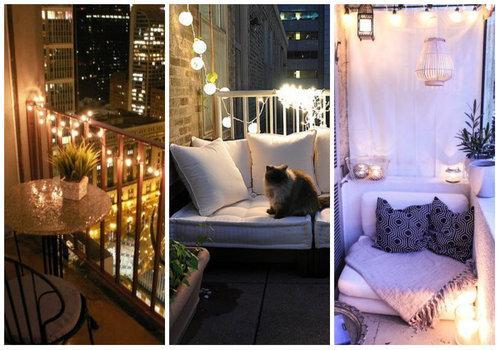 Nastrojowe Oświetlenie Balkonu Na Pomysły Zszywkapl