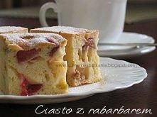 ciasto z rabarbarem przepis po kliknięciu w zdjęcie