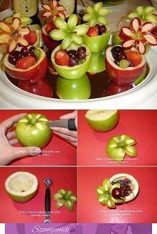 Pomysł na urocze desery owocowe :)