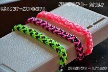 Hej wszystkim! Tworzę bransoletki typu ,,Rainbow Loom'' z kolorowych gumeczek. Niedawno założyłam bloga z biżuterią i chciałabym się jakoś wspiąć wyżej, więc postanowi...
