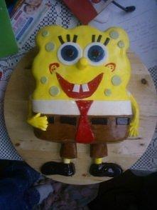 Spongebob dla chrześniaka