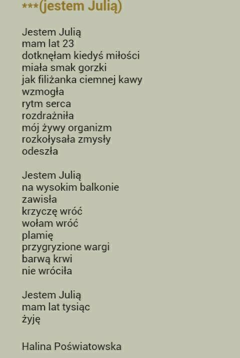 świetny Wiersz Na I Want To Love Zszywkapl