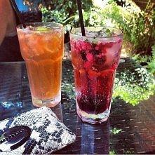 Lekkie i korzystne drinki bezalkoholowe - z cytryną, grejpfrutem, granatem, malinami, truskawkami, kiwi, porzeczką....  Jaki smak Wasz ulubiony?