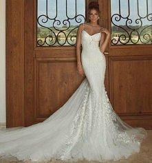 Suknia ślubna - syrenka :)