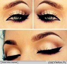cudownie podkreślone oczy <3