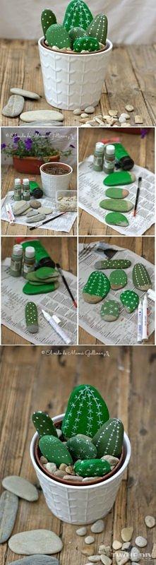 Kamienne kaktusy