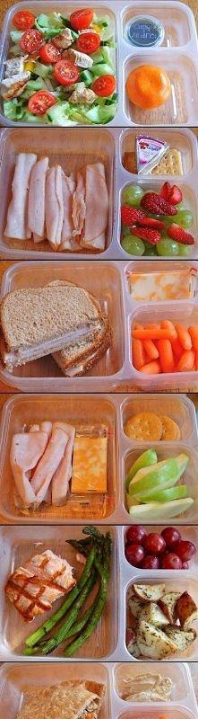Pomysł na zdrowy lunch.