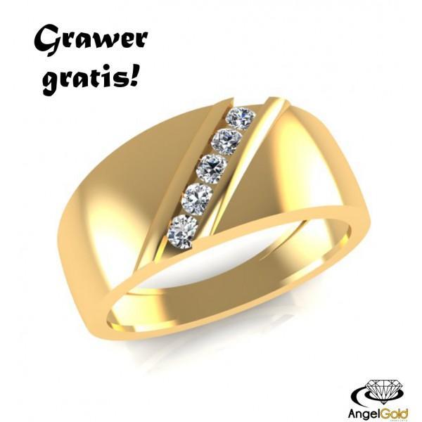 Pierścionek Zaręczynowy Ze Złota Próby 585 Grawer Gratis Klik Na