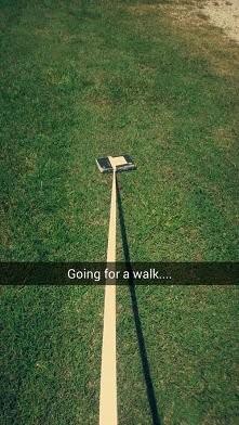 tak, chodźmy na spacer! :D