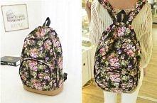 floral backpack #back to sc...
