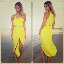 żółta sukienka *.*