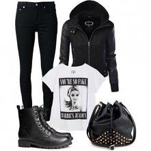 Mega mi sie podoba, szczególnie kurtka i koszulka :D Chcialabym bardzo!