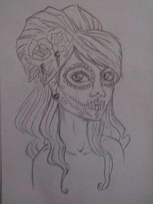 Szkic. projekt. tatuaż.