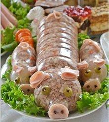 Galareta wieprzowa świnka i...