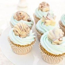 Morskie muffinki :)