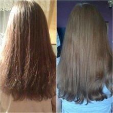 2 miesiące pielęgnacji moich włosów :) Jeszcze nie są w idealnym stanie i długa droga przede mną, ale myślę że jak na tak krótki okres to nie jest źle :)