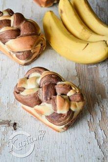 Chlebki bananowo-czekoladowe