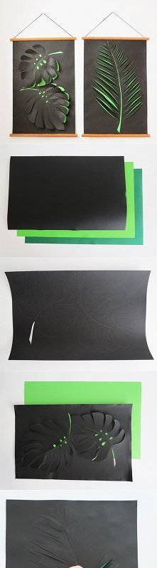 Papierowy obraz