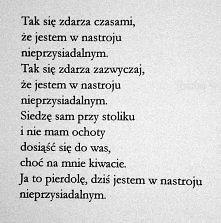 Marcin Świetlicki | Nieprzysiadalność