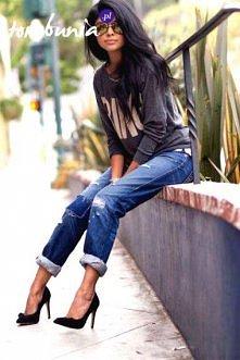 Co myślicie? Jak dla mnie pięknie :> Tylko te buty... :/