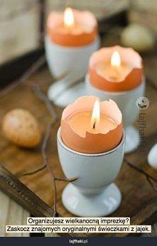 Jak zrobić wielkanocne świeczki?