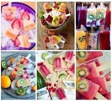 Uwielbiamy owocowe lody - pyszne i naturalne <3