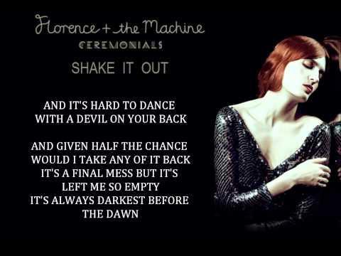 Florence + the Machine - Shake It Out (Lyrics) - YouTube