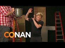 Conan Takes The ALS Ice Bucket Challenge  Conan gets soaked by gallons of ice...