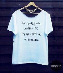 koszulka ręcznie malowana ;)