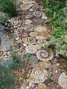 mini mozaika z kamyczków