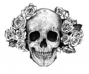Czaszka Dobry Tatuaż Na Wzory I Inspiracje Do Szkicowania