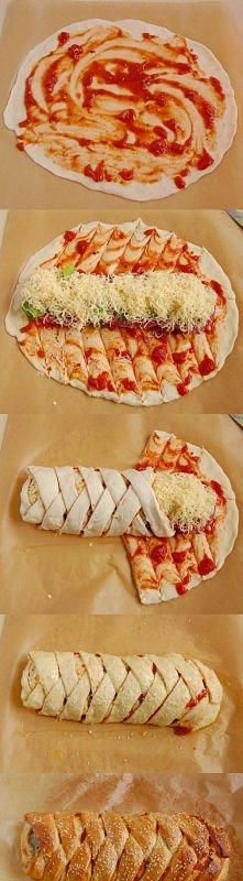 zawijana pizza:d
