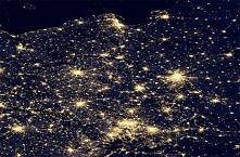 Polska, widziana z kosmosu...