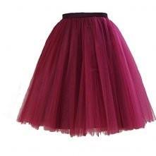 Tiulowa spódniczka w kolorze bordowym!  Macie jakiś pomysł na fajną stylizację z tym cudeńkiem?