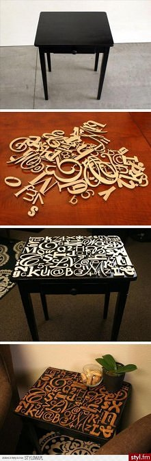 pomysł na fajny stół :3