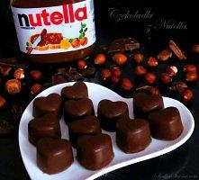 domowe czekoladki z nutella
