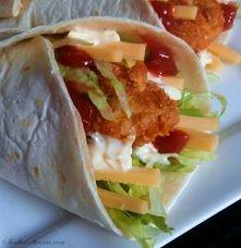Domowe Snack Wrap jak z McDonald's - przepis po kliknięciu w zdjęcie