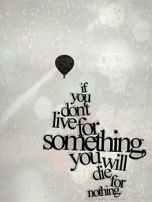 Jeśli nie żyjesz...