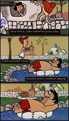 Flintstonowie - spór o base...