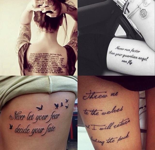 Na tattoos for Lux in tenebris tattoo