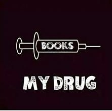 Książki. Moj narkotyk