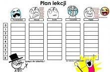 najlepszy plan lekcji :P