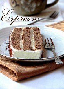 """Przekładane ciasto """"Espresso"""" przepis po kliknięciu :)"""