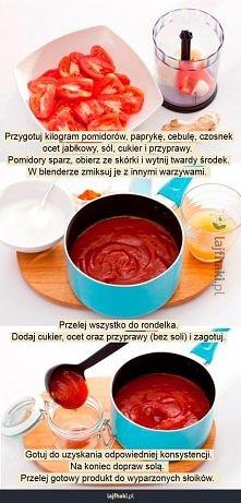 Jak zrobić domowy ketchup?