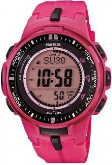 Wbrew pozorom ten różowy zegarek jest w kolekcji ProTrek dla mężczyzn.
