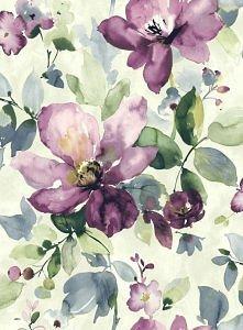 fioletowa magnolia