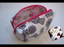 {Step by Step Sewing} DIY Make Up Bag